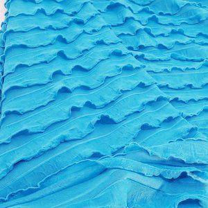 2/$20 Shawl & Wrap Cover-up Blue elastic waist